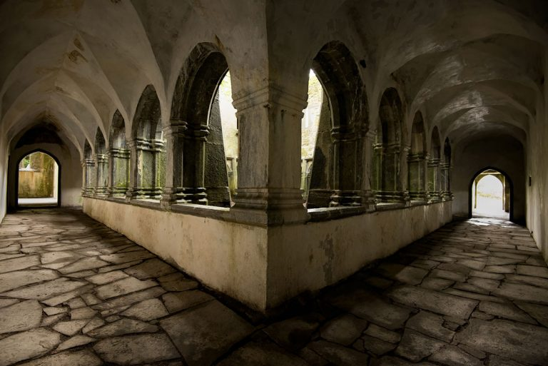 Muckross Abbey Courtyard - Destination Killarney
