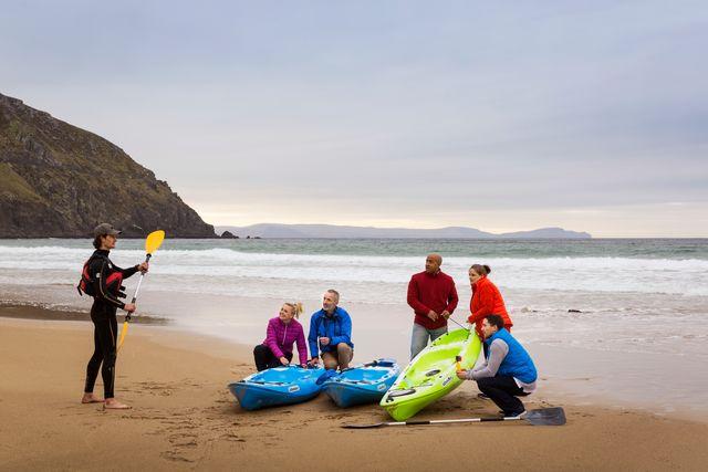 Kayaking in dingle