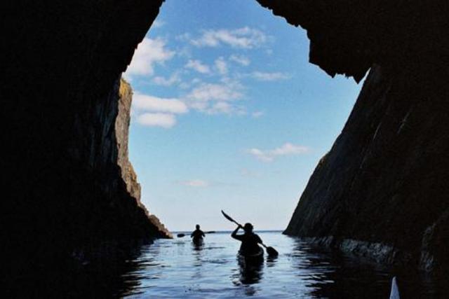 Kayaking Dingle