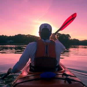 Kayaking Killarney
