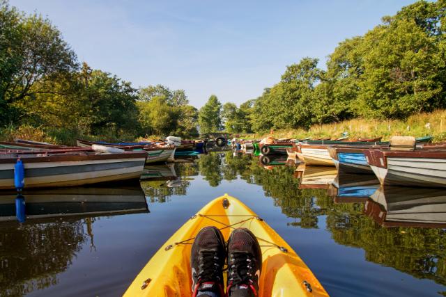 Kayak the lakes of Killarney