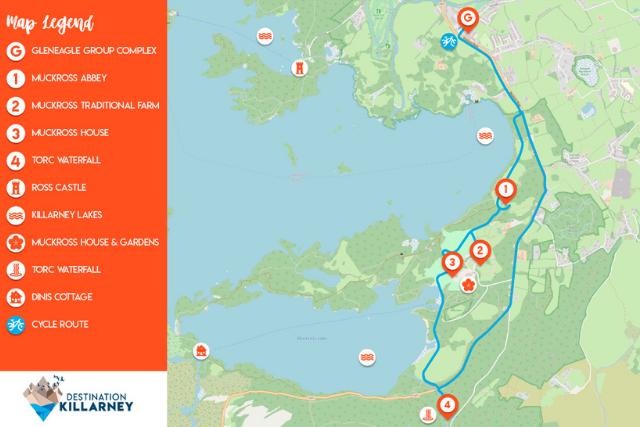 Killarney Cycling Route 1