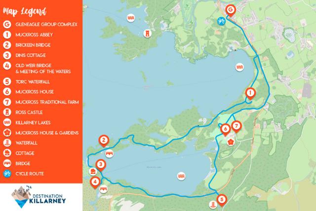 Killarney Cycling Route 2